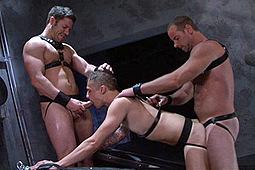 Chris Porter, Girth Brooks, Tristan Jaxx in Tristan Jaxx: My Big Fucking Dick by Falcon Studios
