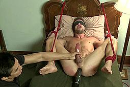 Mike De Marco in Men On Edge: Big Fat Cock Getting Edged by KinkMen