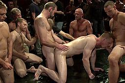 Blake Daniels, Chad Brock in Blake Daniels The Holiday Whore by KinkMen
