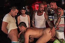 Derek Parker, Drilla, Eddie, Erik Grant, Esteban, Jack Allen in Flooded by Treasure Island Media