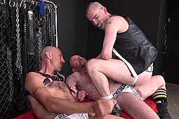 Aarin Asker, Armond Rizzo, Blue Bailey, Boy Fillmore, Jason Stormme, Lex Antoine, Lukas Cipriani, Nick Roberts, Super Steve in Pigs Love Cum by Dick Wadd