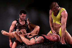 Aymeric Deville, Francois Sagat, Hunter Marx, Jessy Ares, Jimmy Durano, Shay Michaels, Trenton Ducati in Incubus by Titan Media
