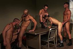 Allen Silver, Devin Adams, Draven Torres, Hunter Marx, Jayden Grey, Leo Forte, Troy Daniels in Inmates by Titan Media
