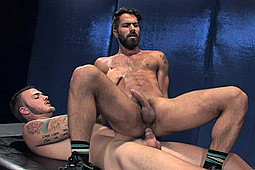 Christopher Daniels, Shawn Wolfe in The Best Of Hard Friction 7 by Falcon Studios Group, Hard Friction, Raging Stallion Studios