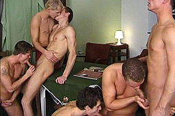 in After School Orgy by Frat House Studios