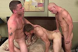 Patrick Rouge, Ransom, Troy in Shear Chaos 16 by Chaosmen