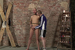 Ashton Bradley, Deacon Hunter in Boynapped 473: Drained Of Cum Through Punishment by BoyNapped