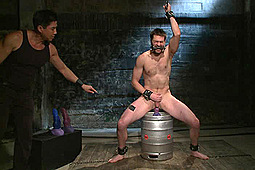 Abel Archer in 30 Minutes Of Torment: Bi Jock With No BDSM Experience Gets Tormented To The Extreme by KinkMen