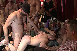 in Giant Cock Stud Relentlessly Fucked And Tossed Around Like A Ragdoll by KinkMen