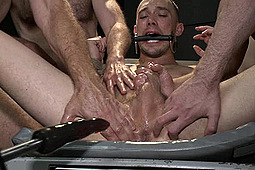 Kirk Cummings in Giant Cock Whored Out To The Horny Public by KinkMen