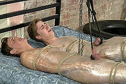 Dylan Thorne, Master Sebastian in Boynapped Extreme: Cock And Ball Punishment by BoyNapped