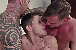 Dmitry Osten, Dylan James, Logan Rogue in Michael Lachlan Raw Aussie Stud by Lucas Entertainment