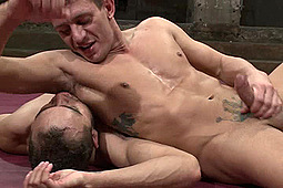 Alexander Gustavo, Dominic Pacifico in Brock The Big Show Avery VS Alexander The Great Gustavo by KinkMen