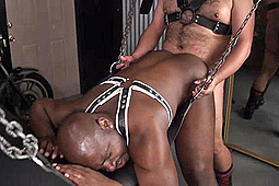Daemon Sadi, Lanz Adams in Dirty Dungeon Deeds 2 by Hairy And Raw