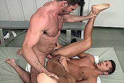 Billy Santoro, Seth Santoro in Right And Raw by Cocksure Men, Jake Cruise Media