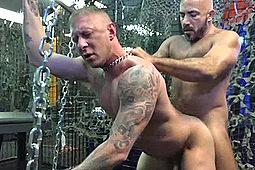 Alessio Romero, Tyler Griz in Breeding Slut Hole by Alpha One Media, Breed Me Media