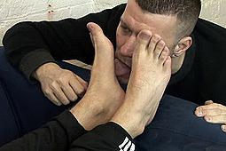 Scott Sniff Socks in Builders Feet Treat by ScottXXX