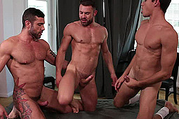 Ashton Summers, James Castle, Letterio Amadeo in Raw 3 Way by Lucas Entertainment
