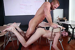Dirk Caber, Jack Hunter in Straight A Student by Men