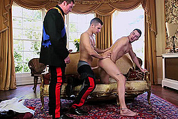 Bruce Williams, Connor Maguire, Mike De Marco in A Royal Fuckfest by Men