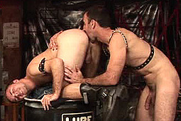 Billy Dewitt, Steven Richards in Pound The Pup by Ducati Studios, Nasty Daddy