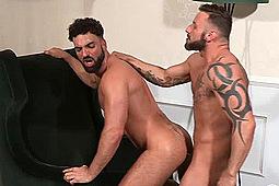 Abraham Al Malek, Antonio Miracle in Men Of Madrid by Falcon Studios Group, Raging Stallion Studios
