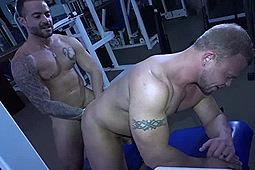 Daxton Ryker, Gabriel Fisk in Gym Stalkers: The Bodybuilder by Alpha One Media, Big Daddy's Big Media