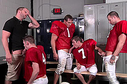 Colby Jansen, Johnny Rapid, Ryan Rockford in Football Fuckdown by Men