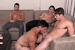 Addison Graham, Aspen (m), Evan Marco, Tobias in Str8 Bitch by Bromo
