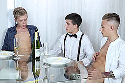 Chris Jansen, David Sky, Mike Cole in Rich Bitch by Staxus