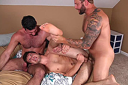 Billy Santoro, Colby Jansen, Jack Radley in Stealth Fuckers by Men