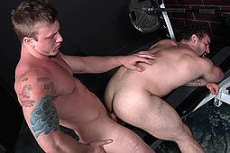 Jaxton Wheeler, Tom Faulk in Virgin Hunter by Men