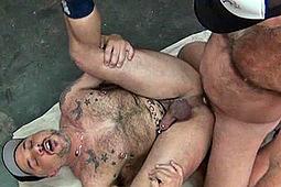 Bronson Gates, Damien Knight in Muscle Bear Hookup by Ducati Studios, Nasty Daddy