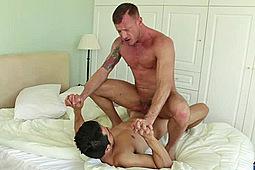 Derek Allan, Logan Rogue in Cum-Pumping Papis by Lucas Entertainment