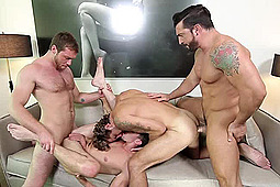 Connor Maguire, Jack Hunter, Jimmy Durano, Wesley Woods in His Royal Highness by Men