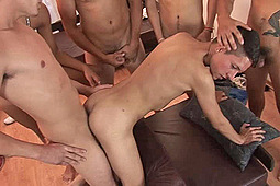 Abel, Dennis, Gilbert, Gustave, Ismael, Logan in All I Could Bare by Bareback Latinoz, CJXXX