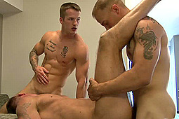 Chase (Pink Bird Media), Craig Cameron, Quentin Gainz in Battlefield Threesomes by Active Duty