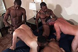 Alex Mason, Big Red, Casanova, Damien Vasquez, Romance, Seduction (m), Sexiiboi, Tristan Flip in Take That Black Dick White Boy by Treasure Island Media