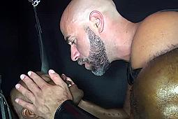 Collin O'Neal, Osiris Blade in Sex Club Sluts by Dark Alley Media, Raw Fuck Club