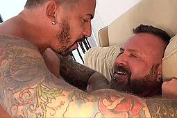 Adam Knocksville, Marc Angelo in Fur Frenzy 2 by Bear Films