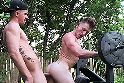 Brent Corrigan, JJ Knight in MXXX The Hardest Ride by NakedSword Originals