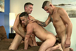 Cesar Rossi, Conner Mason, Jace Chambers in Thick Dicks by Extra Big Dicks, Pride Studios