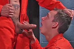 Garret Cooper, Rafael Alencar in Scared Str8 XXX Parody by Men