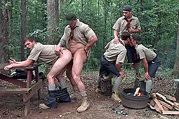 C.K.Steel, Jack Radley, Jimmy Fanz, Zac Stevens, Zeb Atlas in Scouts by Men