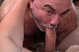 Rod Drainer in Hump Day Raw Sling 3-Way by Natural Born Breeders, Thunderhead Productions