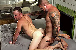 Rocco Steele, Saxon West in Rocco Steele Homemade Fuck Saxon West by My10Inches