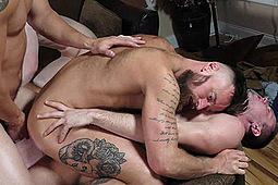 Ashton McKay, Brandon Evans, Damien Kyle, Hoytt Walker, Kyle in My Cousin Ashton by Men