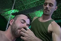 Alex Mason, Brett Bradley in Gaytanamo 2: Resist Part 1 by Dark Alley Media, Raw Fuck Club