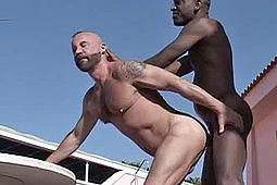 Frank Cento, Sandro in Bare Under The Sun by Dark_Alley_Media-Raw_Fuck_Club