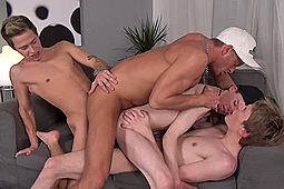 Aaron Aurora, Denis Reed, Milan Sharp, Neo Williams in Maxxxed Out by Staxus